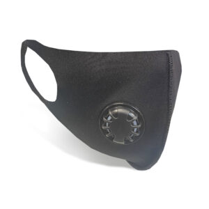 Wholesale Vented Face Covering - Black