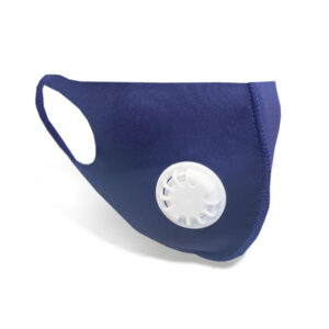 Wholesale Vented Face Covering - Blue