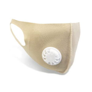 Wholesale Vented Face Covering - Taupe